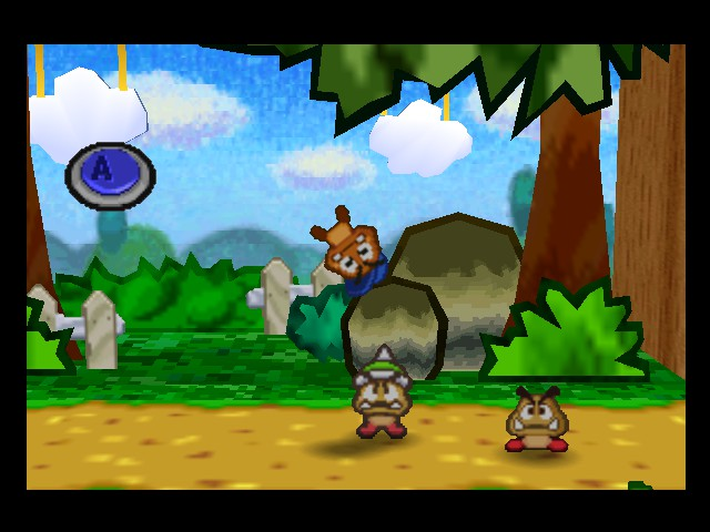 Paper Mario - Goombario: That